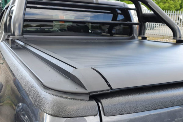 Toyota Hilux 2016+ Pro Roll Roller Shutter with COMBAT Roll Bar Combo