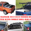Ford Ranger T6 Tesser Roller Shutter with Combat Roll Bar Roof Basket LED Light Pods Package Deal