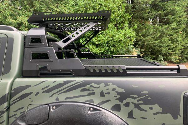 Ford Ranger T6 Tesser Roller Shutter Tonneau Cover and Combat Roll Bar COMBO