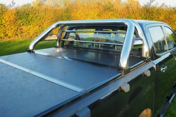 Ford Ranger 2012+ Soft Fold Tonneau Cover with Roll Bar