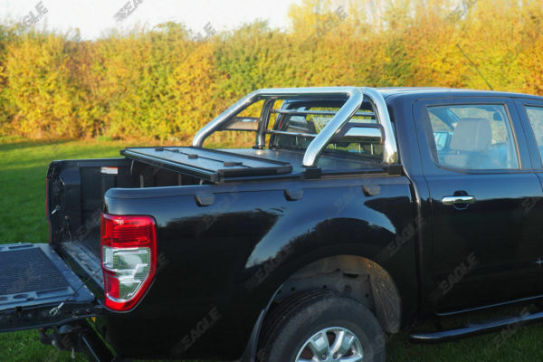 Ford Ranger Soft Folding Tonneau Cover with Roll Bar COMBO