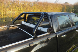 Ford Ranger T6 Roll Bar and Soft Roll Up Cover