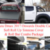 Isuzu Dmax D/C Soft Roll Up Cover and Roll Bar Combo