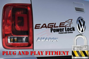 VW Amarok Tailgate Lock Integrate Central Locking Plug and Play Harness Fitment