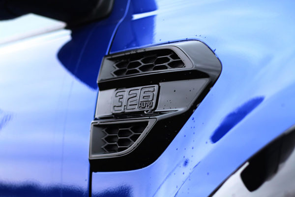 Ford Ranger Side Vent Surround Covers - Black - Pair