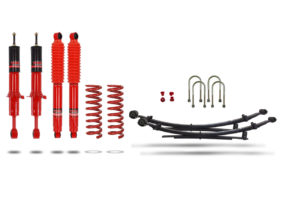 """Ford Ranger 2019+ Suspension Lift Kit 1.75"""" Pedders - Improved Ride with Assembled Struts"""