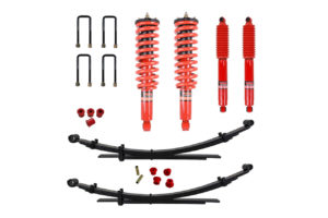 "Isuzu Dmax 2012-17 Suspension Lift Kit 1.75"" Pedders - Improved Ride with Assembled Struts"