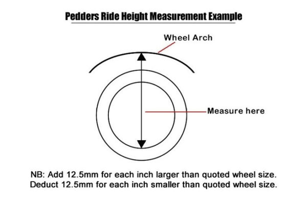 "Isuzu Dmax 2017+ Suspension Lift Kit 1.75"" Pedders - Improved Ride with Assembled Struts"