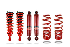 "Mercedes X Class Suspension Upgrade Kit 1.5"" Pedders - Improved Ground Clearance with Assembled Struts"