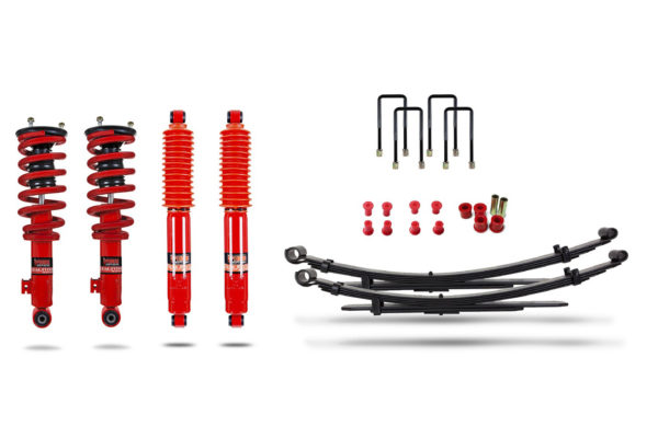 "Mitsubishi L200 2006-15 Suspension Lift Kit 1.5"" Pedders - Improved Ride with Assembled Struts"