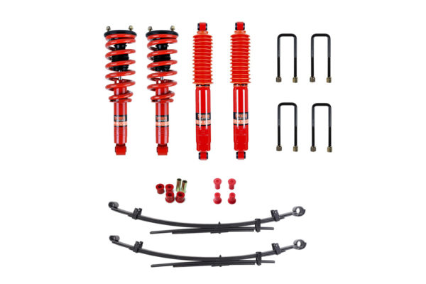 "Mitsubishi L200 2015+ Suspension Lift Kit 1.5"" Pedders - Improved Ride with Assembled Struts"