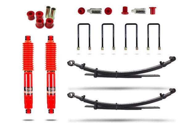 Mitsubishi L200 2006-15 Suspension Upgrade Kit Pedders - Heavy Duty Carrying and Towing