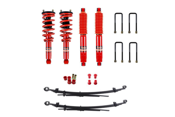 Mitsubishi L200 2015+ Suspension Upgrade Kit Pedders - Heavy Duty Carrying and Towing