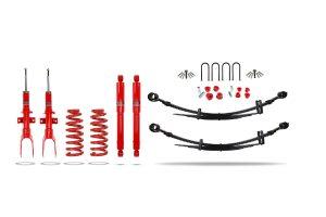"""VW Amarok 2L Engine Suspension Lift Kit 1.5"""" Pedders - Heavy Duty with Foam Cell Shocks"""