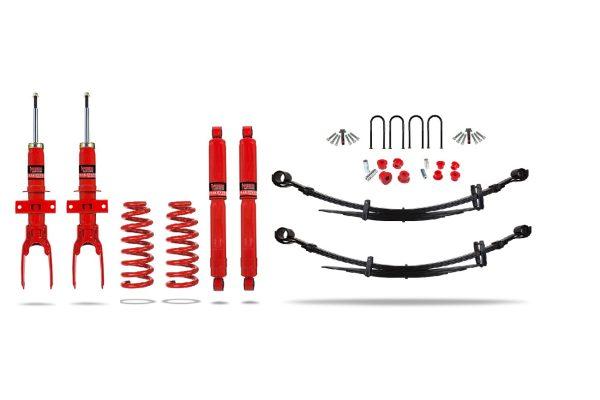 """VW Amarok 3L Engine Suspension Lift Kit 1.5"""" Pedders - Heavy Duty with Foam Cell Shocks"""
