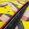 Toyota Hilux Tailgate Cap - Large Black Textured
