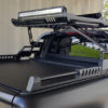 Mitsubishi L200 Series 5 COMBAT Style Roll Bar Aggressive Black with Roof Basket