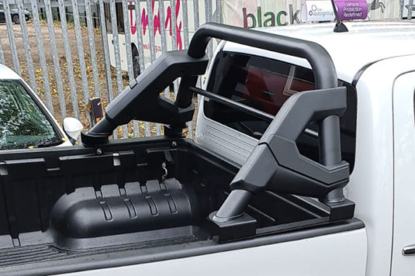 VW Amarok Black F1 Style Roll Bar Upgrade