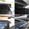 Ford Ranger Super Cab Soft Roll Tonneau Cover & Roll Bar Combo Black