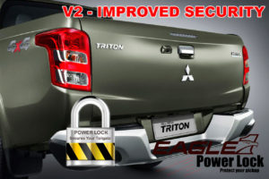 Mitsubishi L200 Series 5 Improved Security Centralised Tailgate Lock