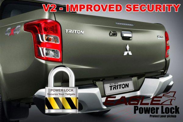 Fiat Full Back 2016-19 Eagle1 V2 Power Lock - Improved Security