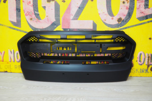 Ford Ranger T8 Wildtrak Front FULL Gloss Black Grille Upgrade Replacement