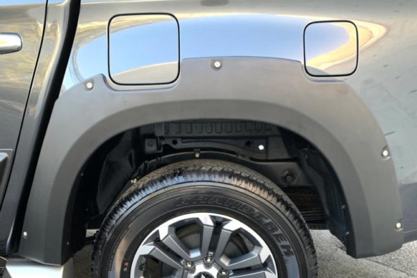 Mitsubishi L200 Series 6 2019+ Fender Flares Whhel Arch Extensions - Rocky Style