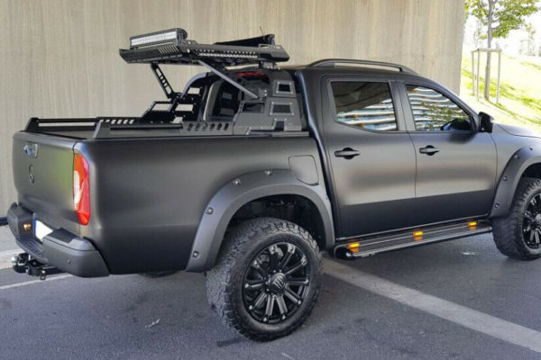 Mitsubishi L200 Series 6 Combat Roll Bar with Roof Basket COMBO Aggression