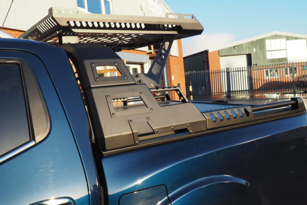 Mitsubishi L200 Series 6 Combat Style Roof Basket and Roll Bar COMBO