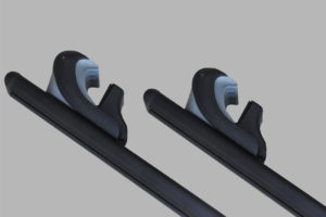 Universal Locking Cross Bars Roof Rails Pickup Truck