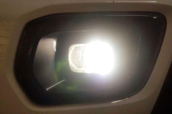 Ford Ranger Fog Light Bulb Replacements with LED DRls