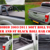 Isuzu Rodeo Soft Roll Up Tonneau Cover with ST Roll Bar Combo Package