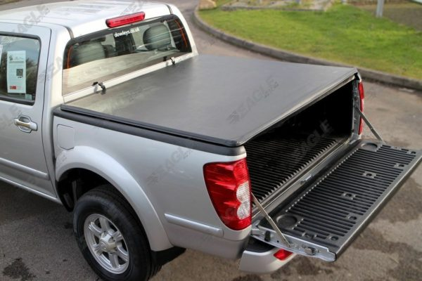 Great Wall Steed Black Soft Roll Up Tonneau Cover with ST Roll Bar
