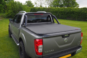 Ford Ranger 99-11 New Style Black Roll Bar Rear Styling Bar