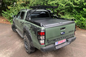 Mitsubishi L200 Long Bed Combat Roll Bar and Roof Basket Aggressive Style