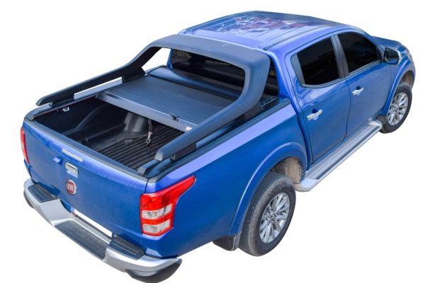 Fiat Full Back Tesser Roller Shutter for Original Cross Roll Bar Black