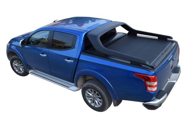 Fiat Full Back Tesser Roller Shutter Hard Locking Tonneau Cover for Original Cross Roll Bar