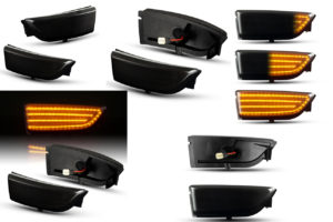 ford ranger LED wing mirror LED Indicator upgrade