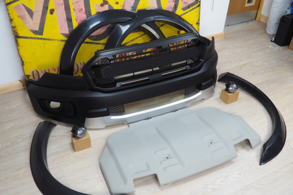 Ford Ranger Body Kit - Style 2 Raptor Style