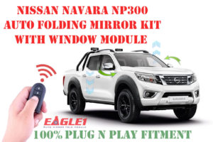 Nissan Navara NP300 Auto Folding Mirror Kit with Window Module