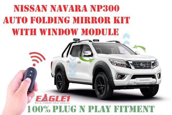 Nissan Navara NP300 Auto Folding Mirror Kit with Window Module
