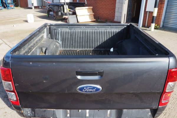 Ford Ranger T6 2012 On Large Smooth Black Tailgate Cap Cover