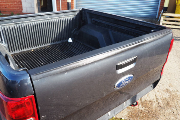 Ford Ranger T6 Large Black Textured Tailgate Cap Cover