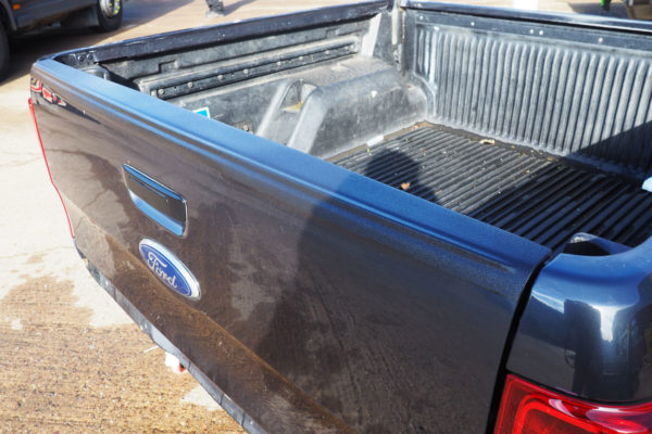 Ford Ranger T6 Large Black Textured Bed Cap Tailgate Protection