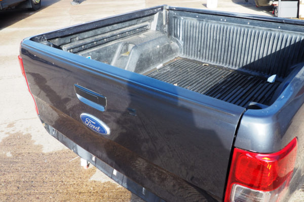Ford Ranger T6 Large Black Textured Tailgate Cap Protection