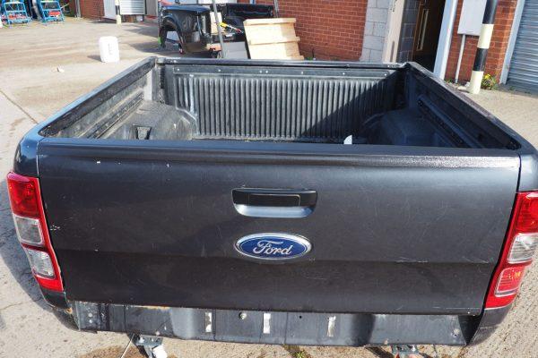 Ford Ranger T6 Top Rail Tailgate Cap Large Black Textured Finish