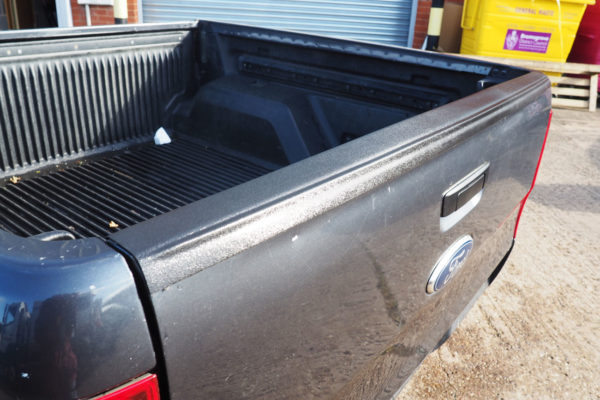 Ford Ranger T6 Large Black Textured Tailgate Cap Protector