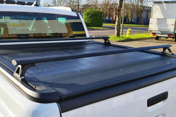 Universal Fit Black Crossbars for Roller Shutters and Tonneau Covers