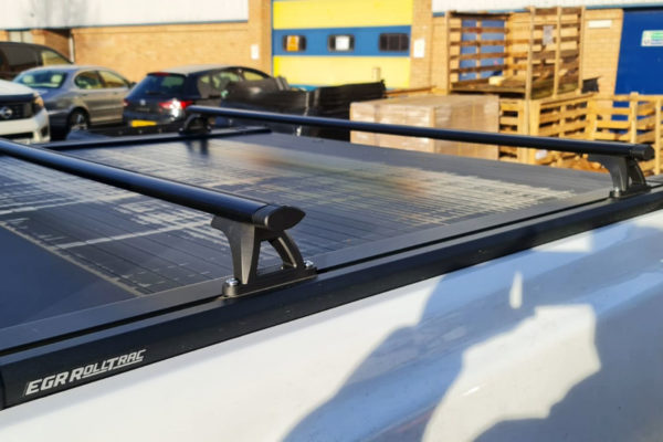 Universal Fit Black Crossbars fits Tonneau Covers and Roller Shutters