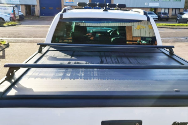 Ford Ranger Wildtrak Crossbars Black Fits with Tonneau Covers Roller Shutters
